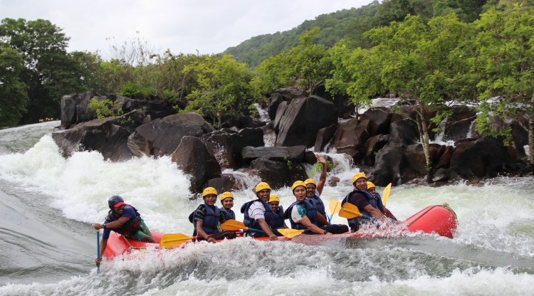 Dandeli water rafting