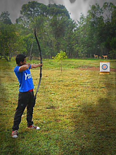 SHIKRA JUNGLE RESORT Aarchery Shooting (9)_20130818224134631