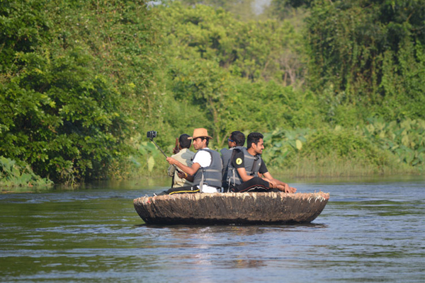 coracle ride in dandeli